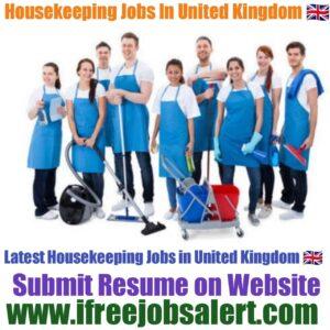 Housekeeping Jobs in United Kingdom